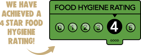 Chicken King 4 Star Hygiene Rating